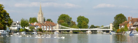 Marlow Bridge and All Saints Church